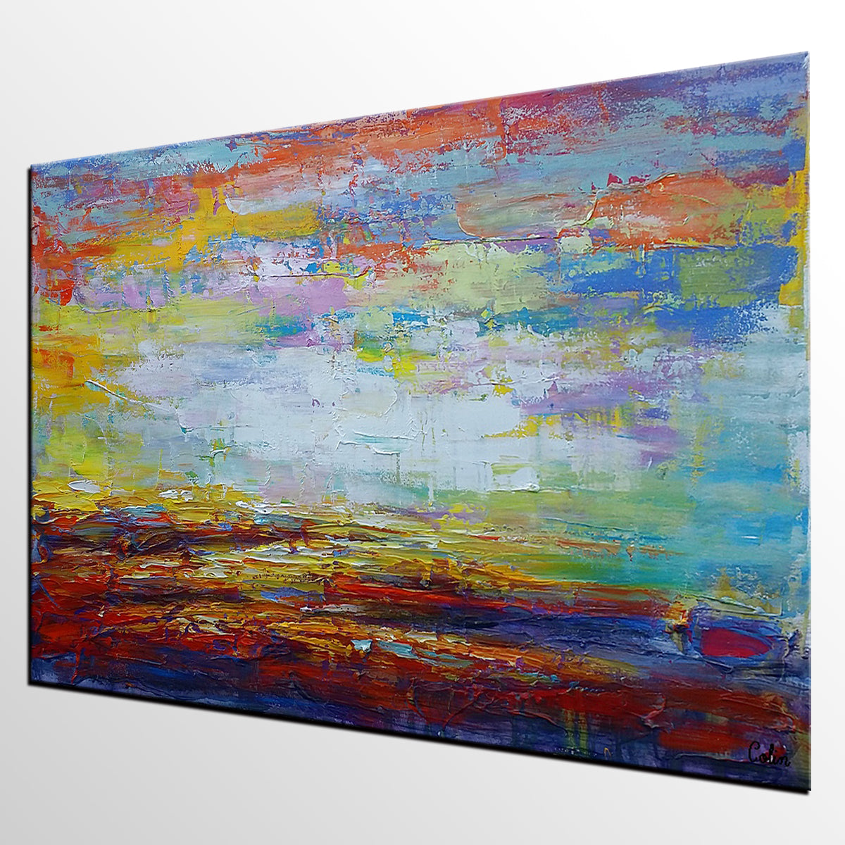 Home Art, Original Wall Art, Landscape Painting, Large Art, Canvas Art, Wall Art, Original Artwork, Canvas Painting, Abstract Art 145