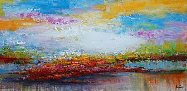 Original Wall Art, Landscape Painting, Modern Art, Wall Decor