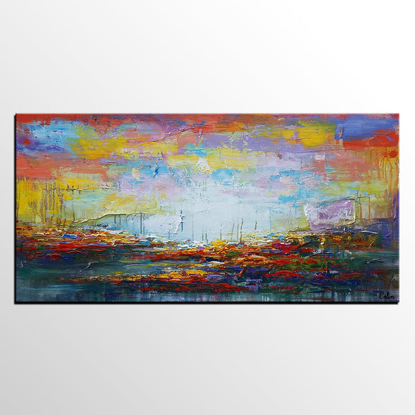 Large Wall Art, Original Painting, Landscape Painting, Large Art, Canvas Art, Wall Art, Original Artwork, Canvas Painting, Acrylic Art, Art on Canvas 152