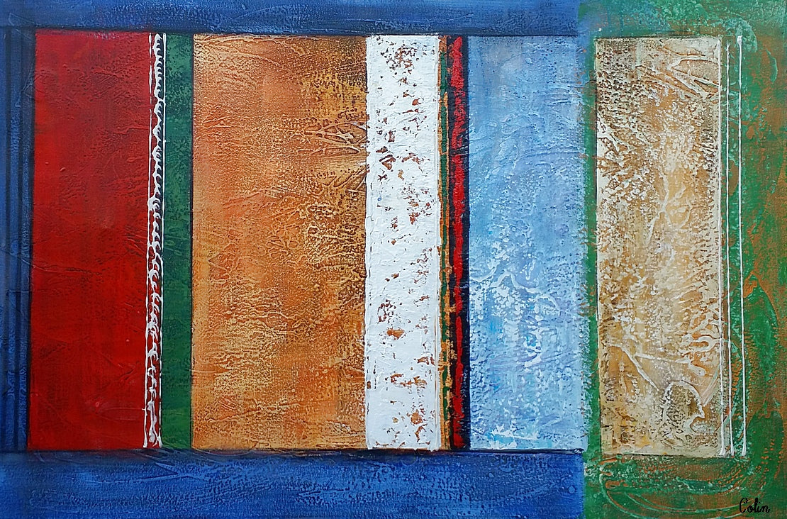 Abstract Painting, Canvas Wall Art, Original Artwork, Canvas Painting, Modern Art
