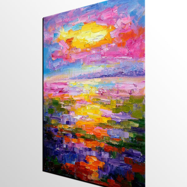 Living Room Wall Art, Large Painting, Abstract Landscape Painting, Large Art, Canvas Art, Wall Art, Abstract Art, Wall Hanging, Modern Art - artworkcanvas