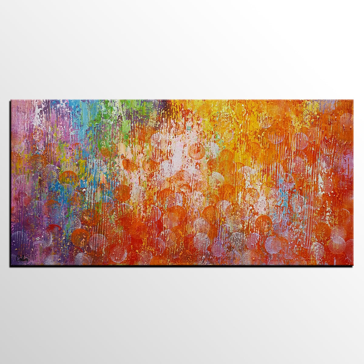 Home Art, Abstract Painting, Canvas Wall Ar...