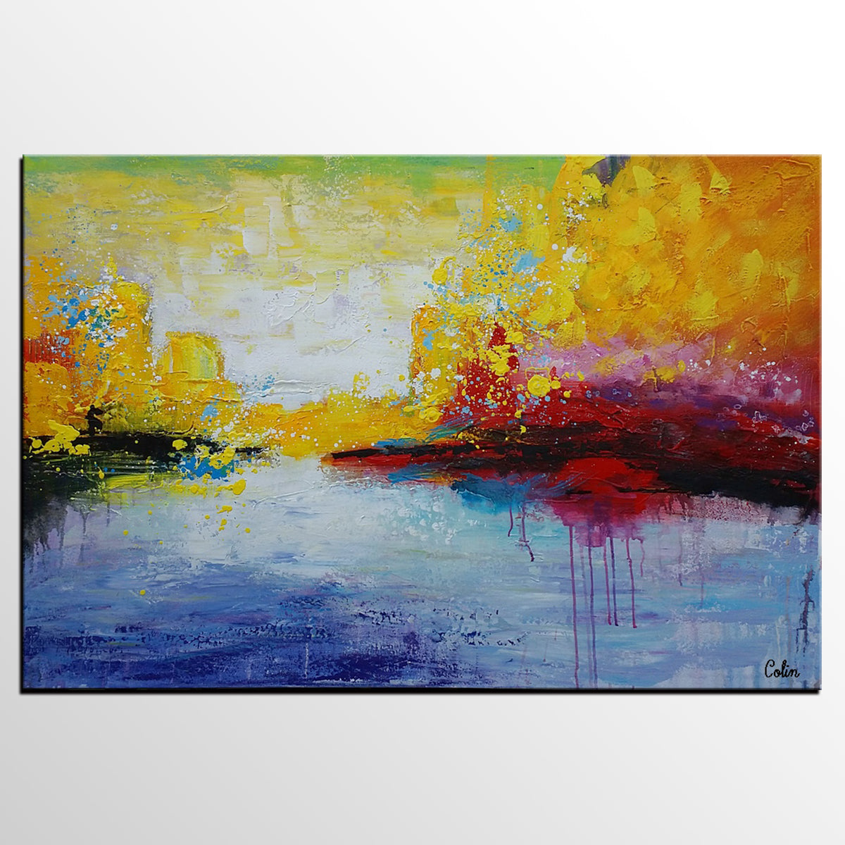 Canvas Wall Art, Abstract Painting, Large Art, Canvas Art, Wall Art, Modern Artwork, Canvas Painting, Acrylic Painting 206