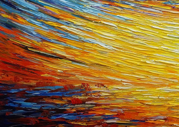 Home Art, Abstract Painting, Original Wall Art, Landscape Painting, Large Art, Canvas Art, Wall Art, Canvas Painting, Oil Painting 216