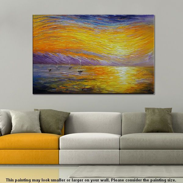 Landscape Painting, Abstract Art, Large Art...