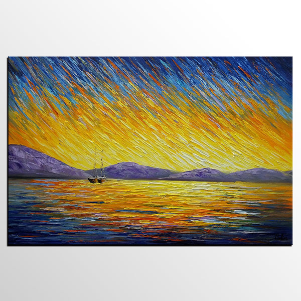 Home Art, Original Wall Art, Abstract Landscape Painting, Large Art, Canvas Art, Wall Art, Large Artwork, Canvas Painting, Oil Painting 221
