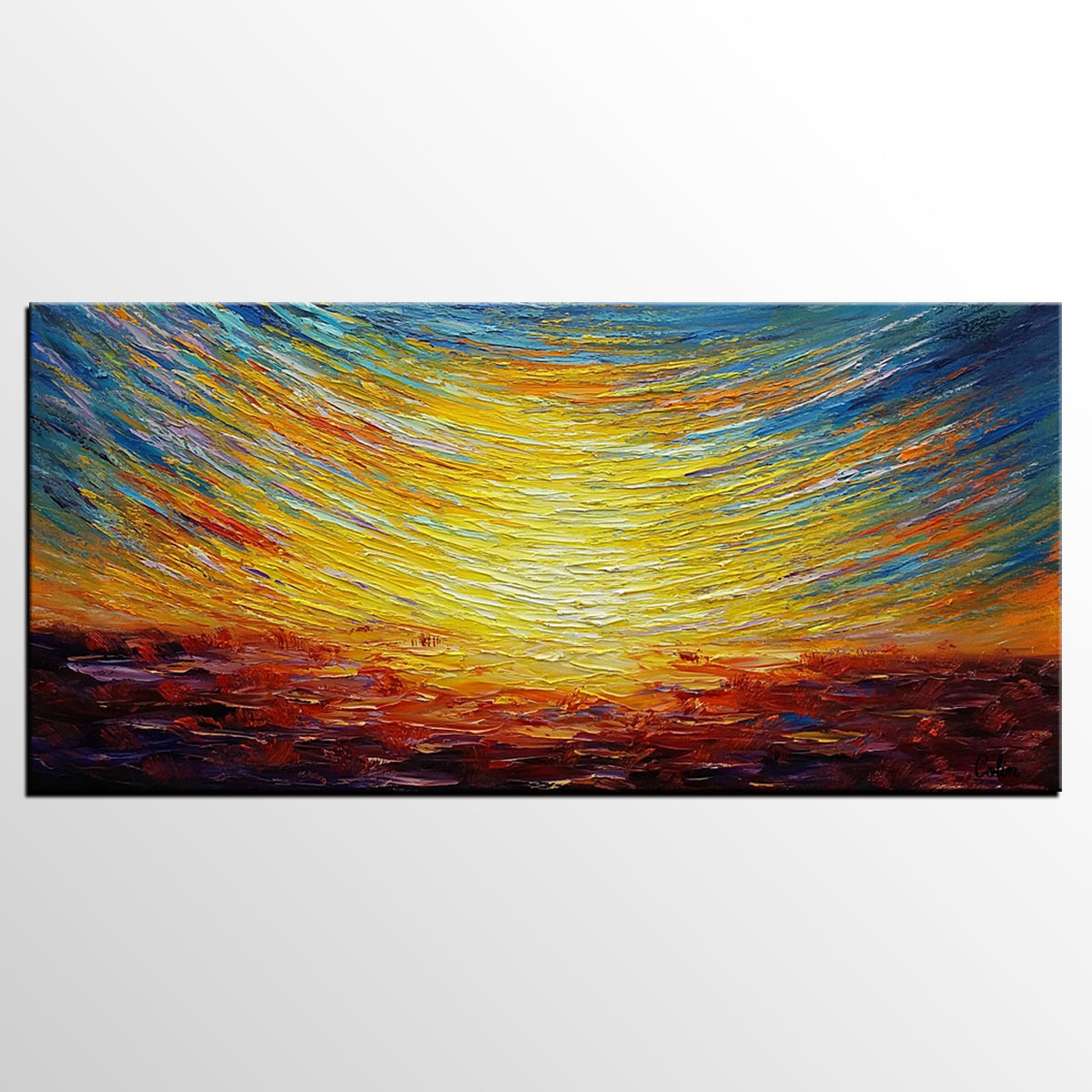 Abstract Painting, Landscape Painting, Abstract Artwork, Canvas Painting, Oil Painting