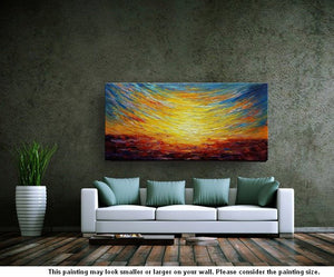Landscape Painting, Abstract Artwork, Abstract Painting, Canvas Painting, Oil Painting