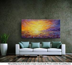 Canvas Painting, Landscape Painting, Large Art, Canvas Art, Wall Art