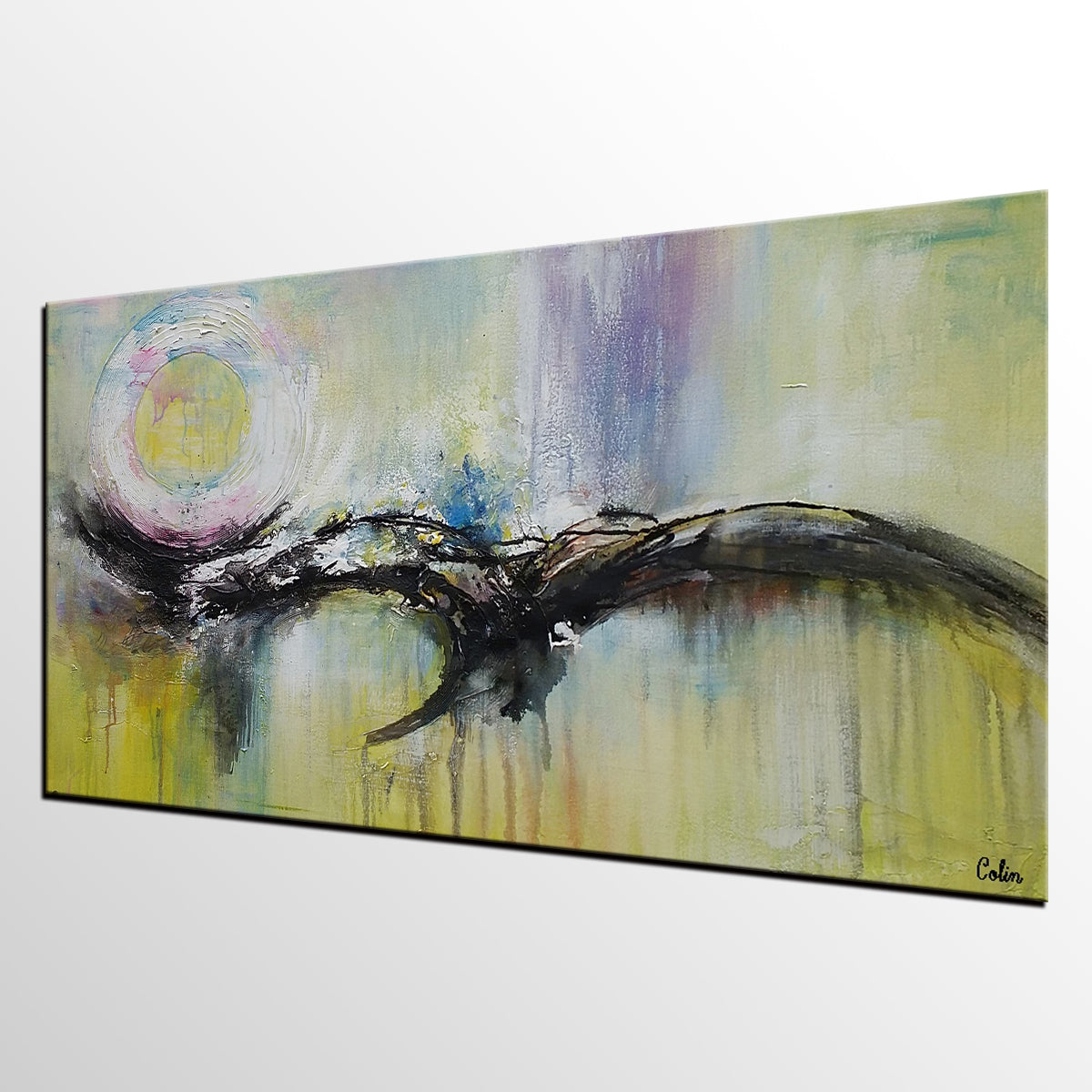 Abstract Painting, Canvas Art, Wall Art, Original Artwork, Abstract Painting