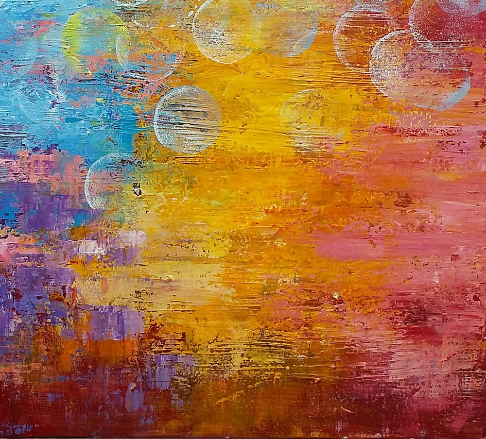 Living Room Painting, Canvas Wall Art, Abstract Painting, Large Art ...