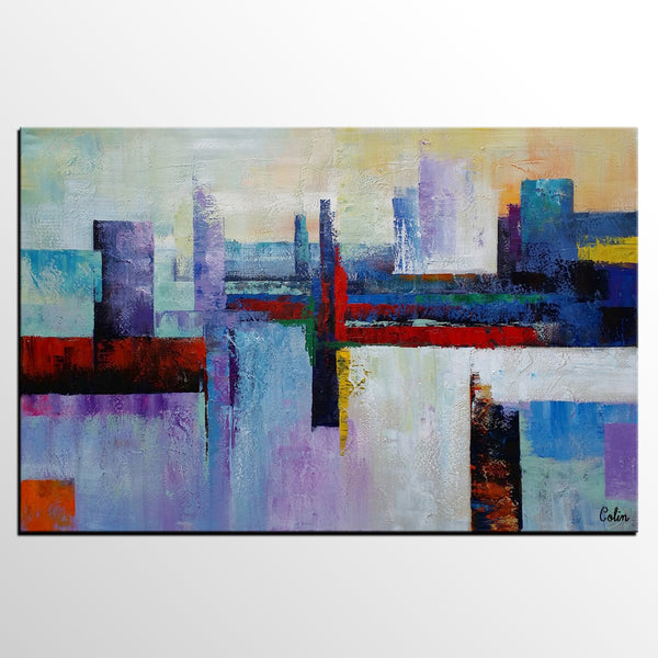 Moden Painting, Original Wall Art, Abstract Painting, Large Art, Canvas Art, Wall Art, Framed Artwork, Canvas Painting 282