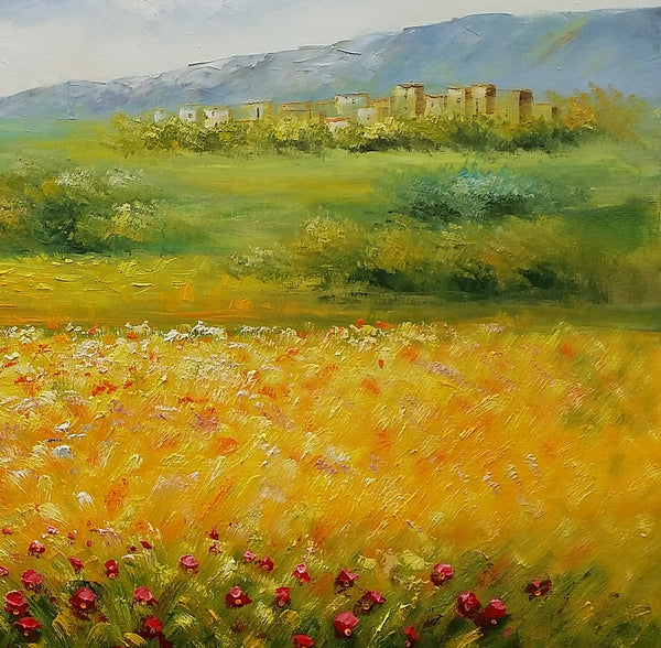 Art on Canvas, Landscape Painting, Large Canvas Art, Canvas Painting, Oil Painting - artworkcanvas