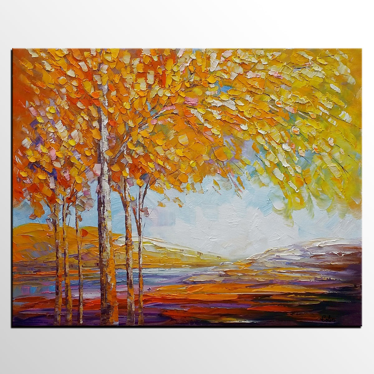Landscape Painting, Oil Painting, Abstract ...