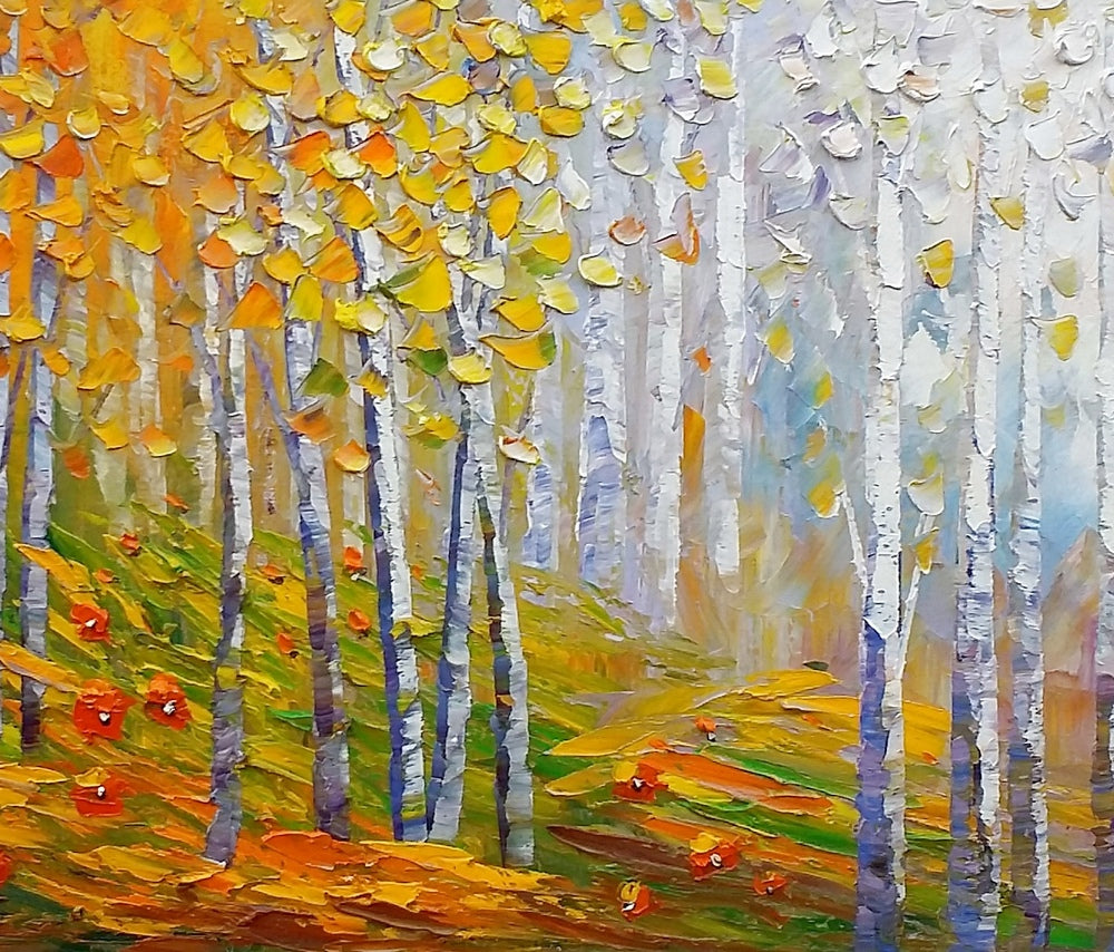 Landscape Painting, Oil Painting, Abstract Painting, Large Art, Canvas Art, Living Room Wall Art, Canvas Painting, Modern Art