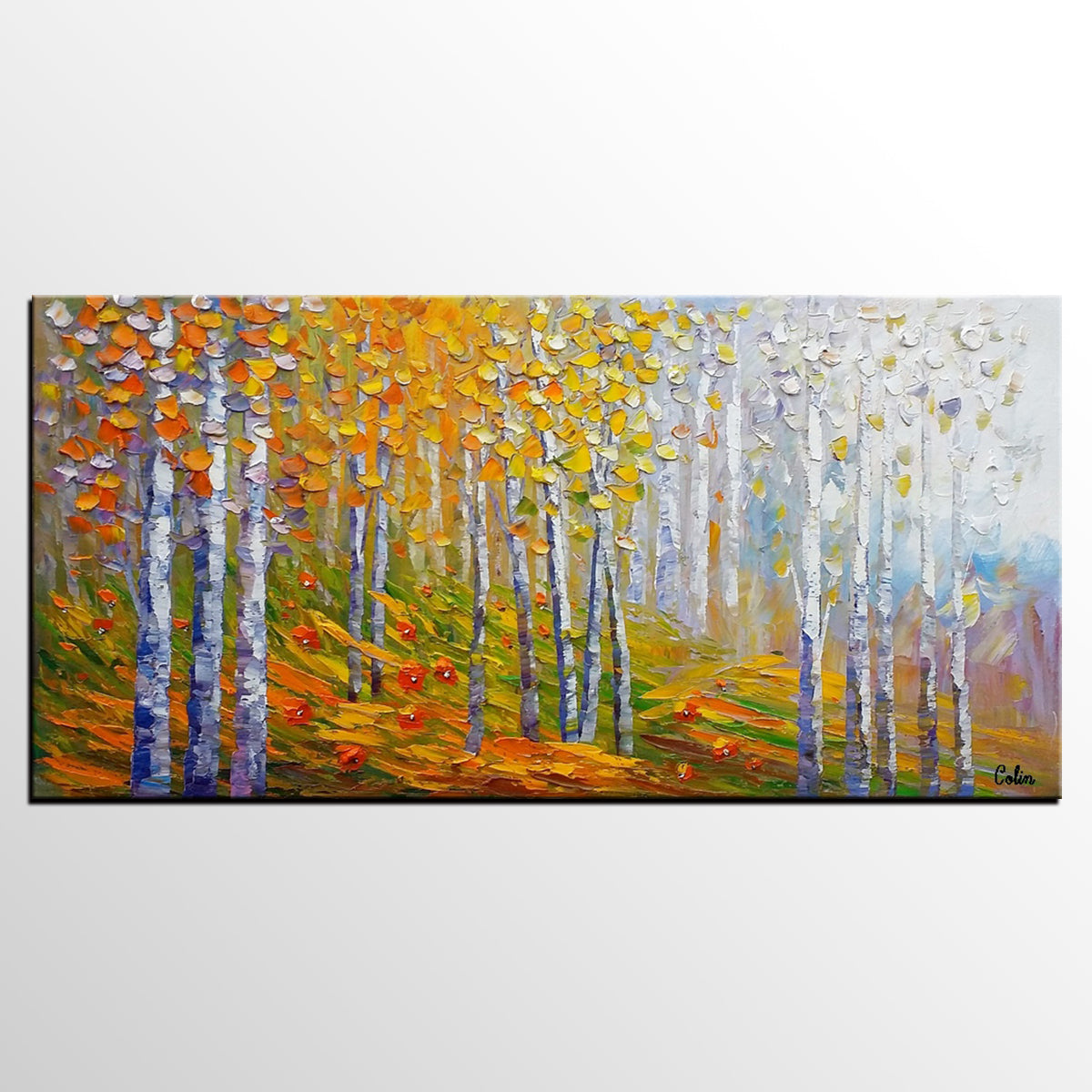 Landscape Painting, Oil Painting, Abstract Painting, Large Art, Canvas Art, Living Room Wall Art, Canvas Painting, Modern Art - artworkcanvas