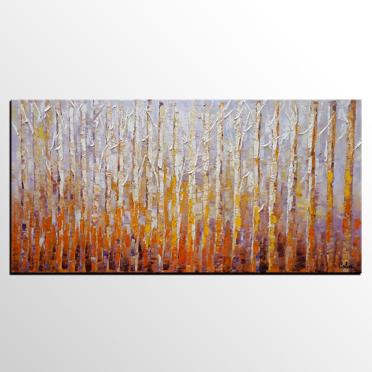 Large Wall Art, Landscape Painting, Oil Painting, Abstract Painting, Large Art, Canvas Art, Living Room Wall Art, Canvas Painting