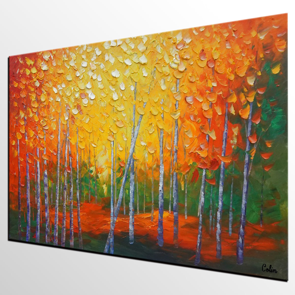 Large Wall Art, Landscape Painting, Oil Painting, Abstract Painting, Large Art, Canvas Art, Modern Wall Art, Canvas Painting