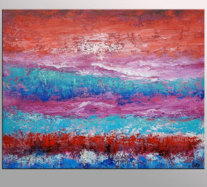 Abstract Painting, Original Wall Art, Abstract Landscape Painting, Large Art, Canvas Art, Wall Art, Original Artwork, Canvas Painting, 368