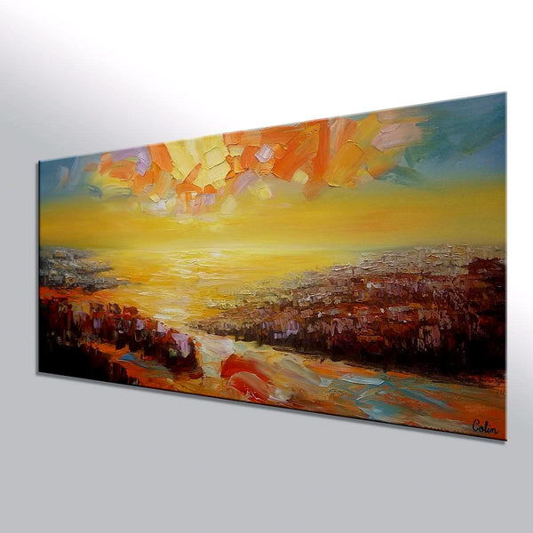 Original Wall Art, Large Canvas Art, Wall Art, Original Painting - artworkcanvas