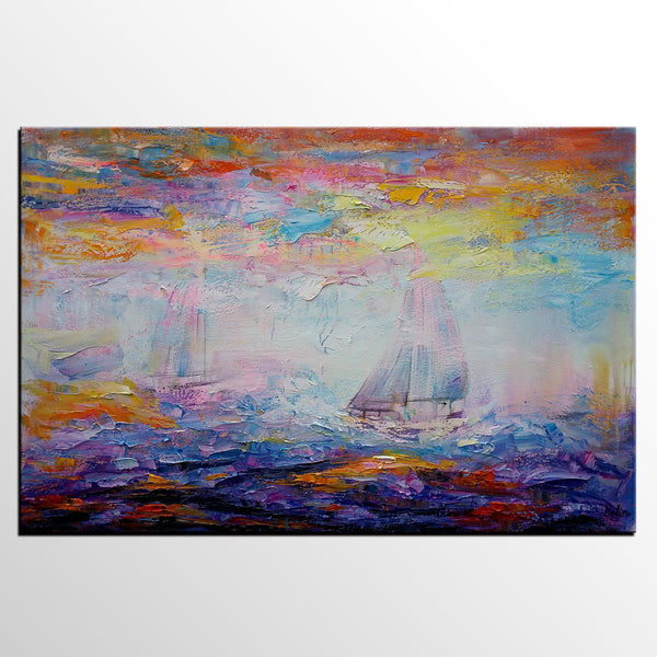 Large Art, Canvas Art, Canvas Painting, Abstract Landscape Painting, Wall Decor, Wall Art, Abstract Art, Abstract Painting, Modern Art
