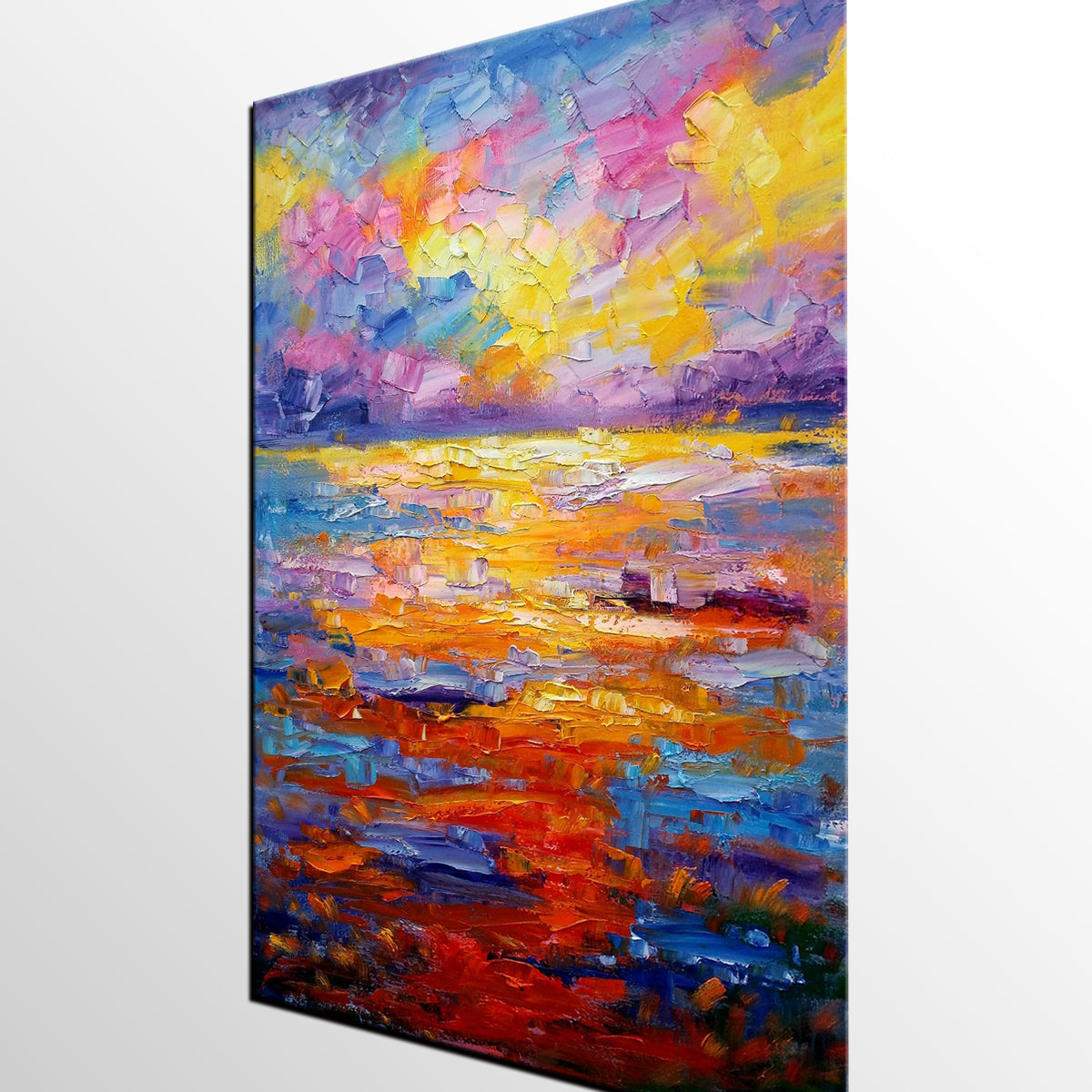Large Art, Canvas Art, Abstract Landscape Painting, Wall Decor, Wall Art, Abstract Art, Abstract Painting, Canvas Painting, Modern Art