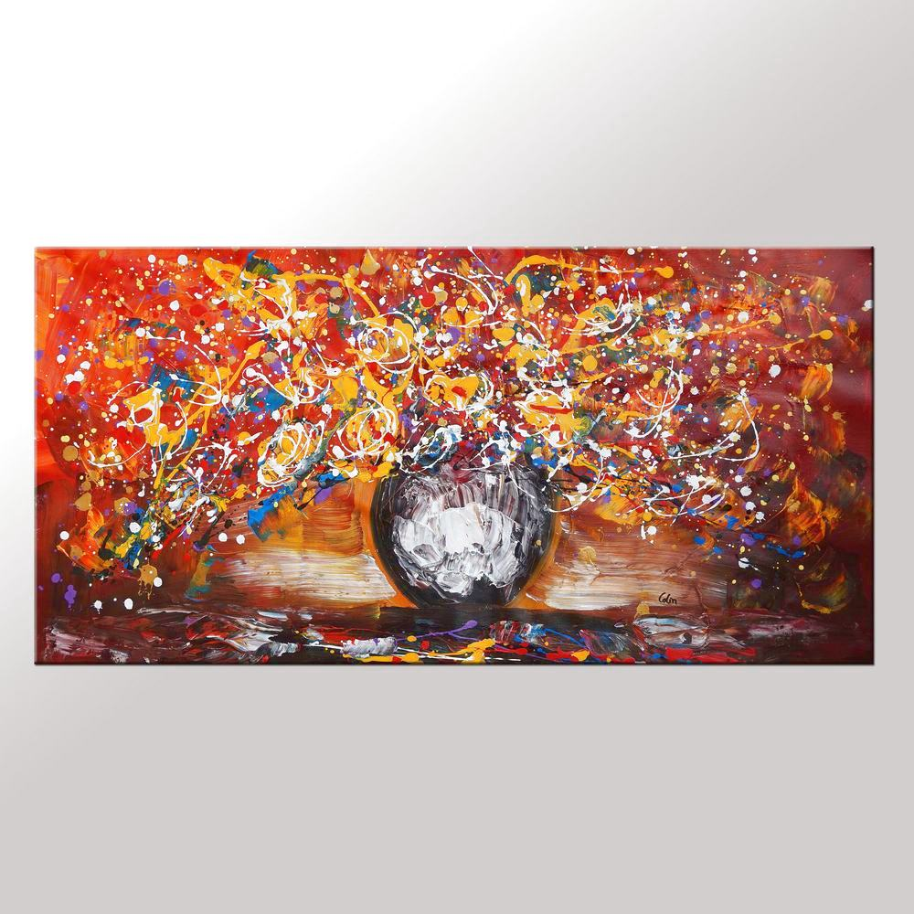 Home Art, Abstract Painting, Canvas Art, Wa...