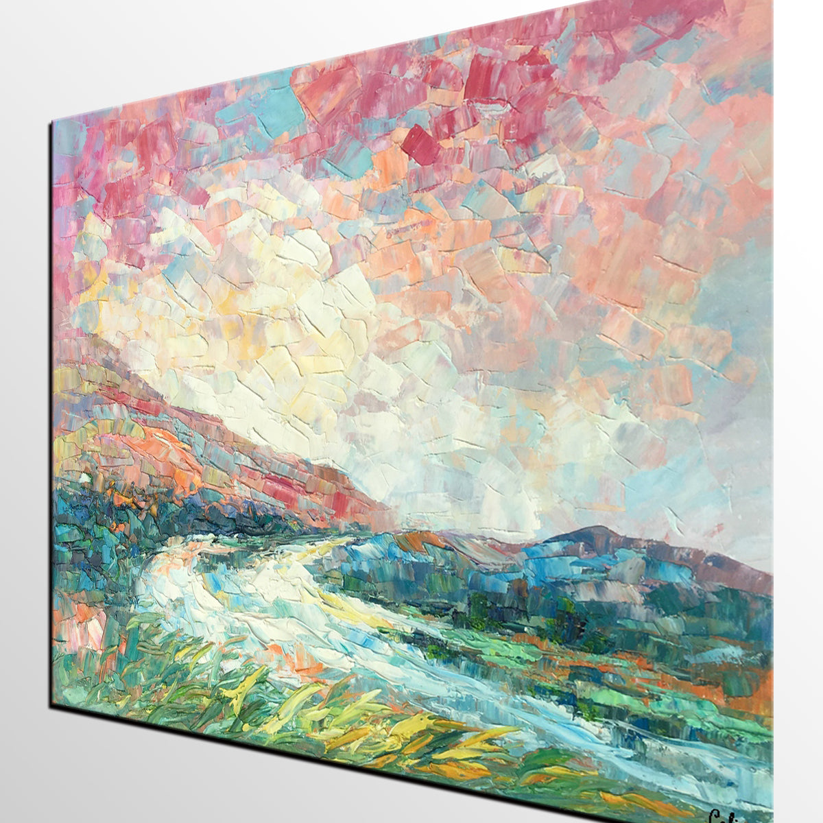 Abstract Painting, Canvas Painting, Painting for Sale, Original Oil Painting, Landscape Art