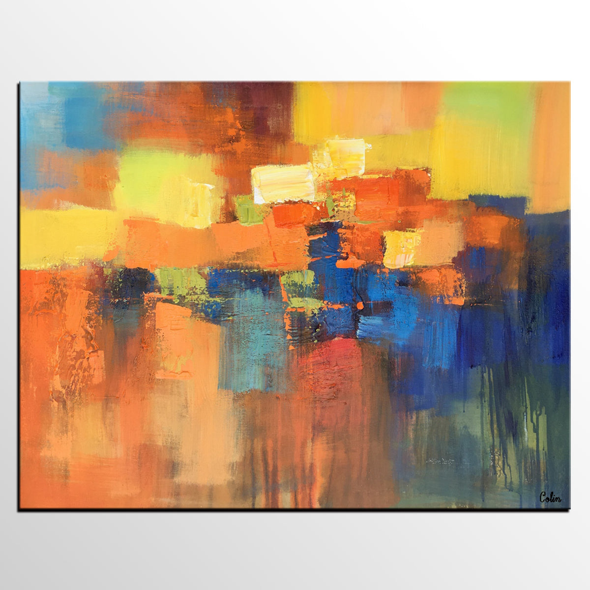 Abstract Painting, Contemporary Art, Canvas...