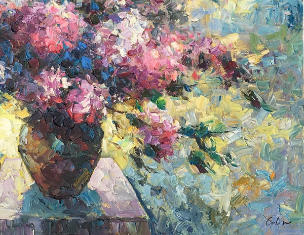 Canvas Wall Art, Flower Painting, Still Life Painting, Large Art, Canvas Art, Wall Art, Original Artwork, Canvas Painting, Oil Painting, 520