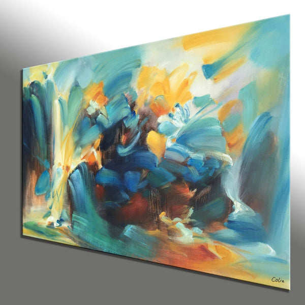 Canvas Art, Abstract Painting, Contemporary Art, Canvas Painting, Oil Painting - artworkcanvas
