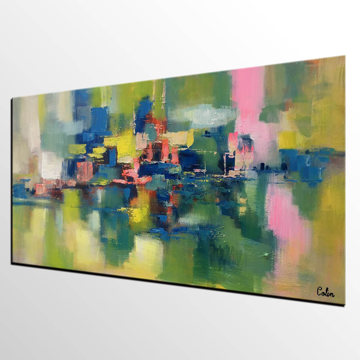 Large Canvas Art, Abstract Painting for Sale, Bedroom Canvas Art, Acrylic Art Painting