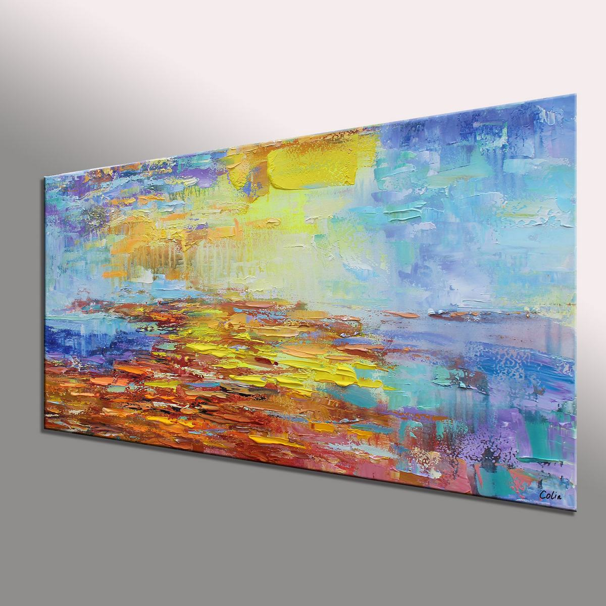 Bedroom Wall Art, Abstract Art, Original Art, Contemporary Art, Large Art, Abstract Painting, Wall Art, Canvas Painting, Oil Painting, 533