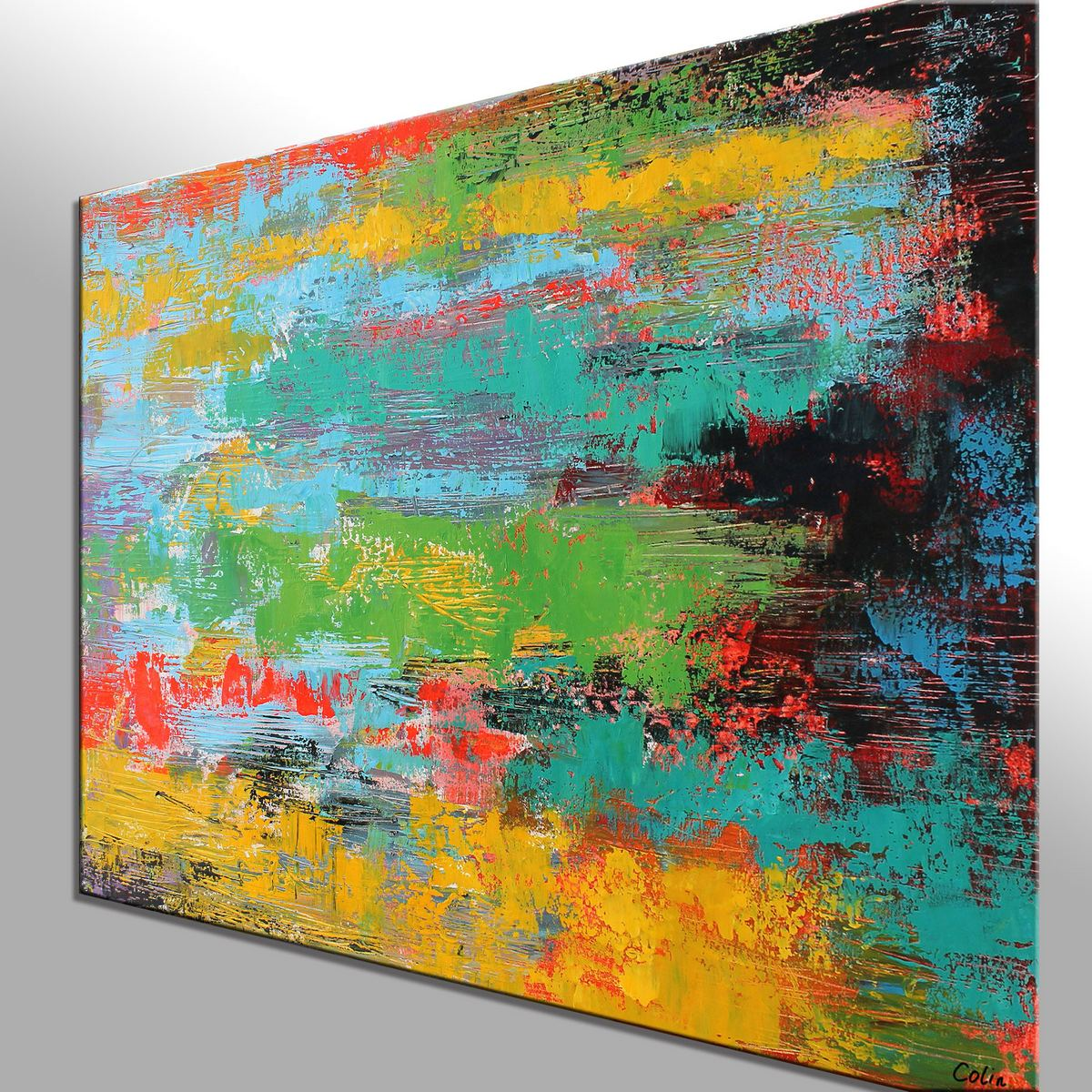 Contemporary Art, Abstract Landscape Art, Wall Art, Canvas Wall Art, Abstract Art, Large Art, Abstract Painting, Original Painting, 543