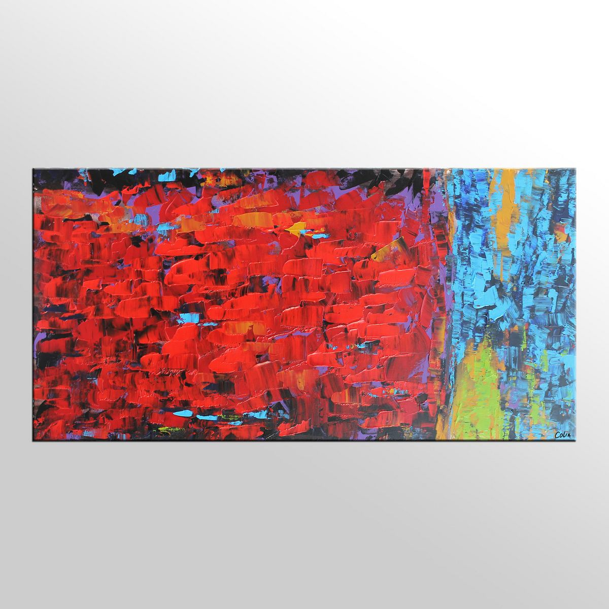 Canvas Art, Modern Wall Art, Contemporary Art, Abstract Wall Art, Oil Painting