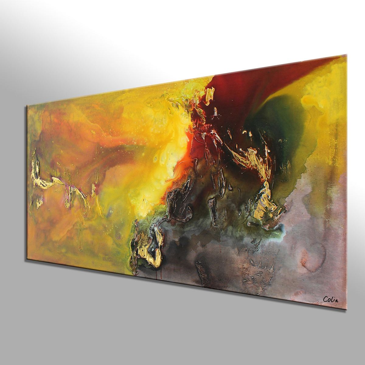 Living Room Wall Art Abstract Painting Original
