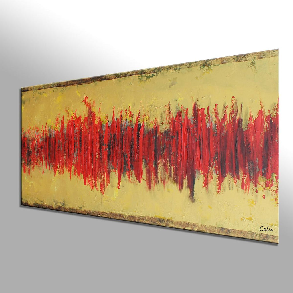 Living Room Wall Art, Abstract Painting, Original Painting, Abstract ...
