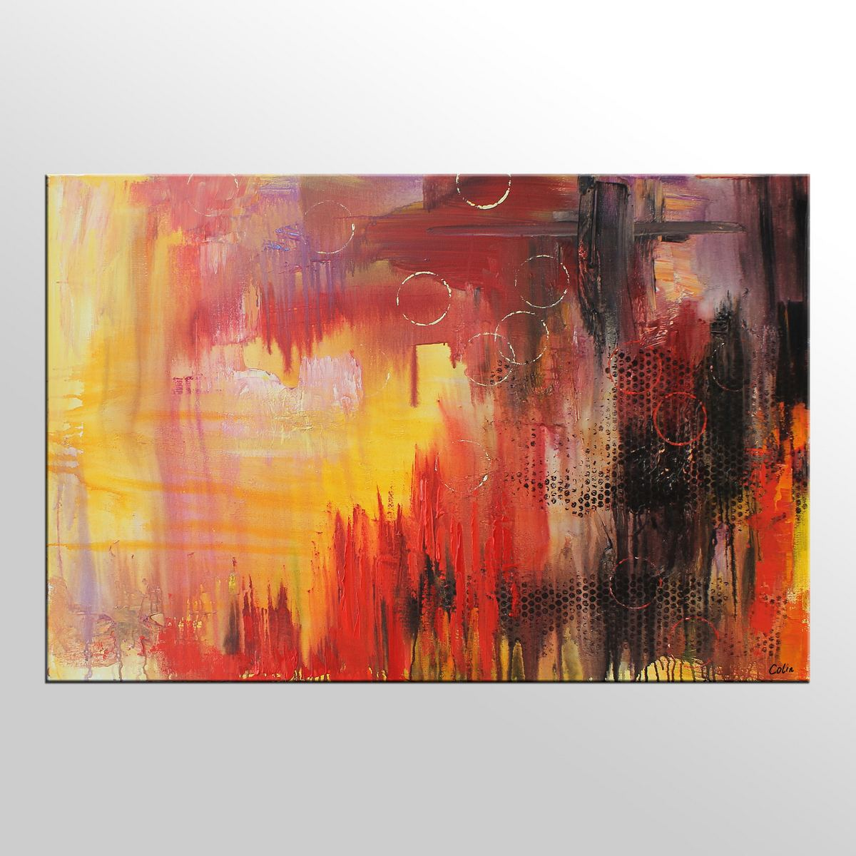 Abstract Painting, Large Art, Original Pain...