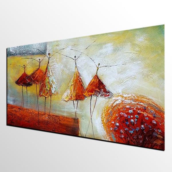 Modern Art, Living Room Wall Art, Abstract Art, Ballet Dancer Painting, Wall Art, Abstract Art, Acrylic Art, Abstract Painting, Original Art