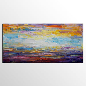 Canvas Painting, Kitchen Wall Art, Abstract Landscape Painting, Large Art, Canvas Art, Wall Art, Original Artwork, Abstract Painting, Custom Art