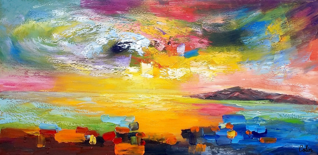 Wall Art, Contemporary Art, Abstract Landscape Art, Canvas Wall Art, Abstract Art, Large Art, Abstract Painting