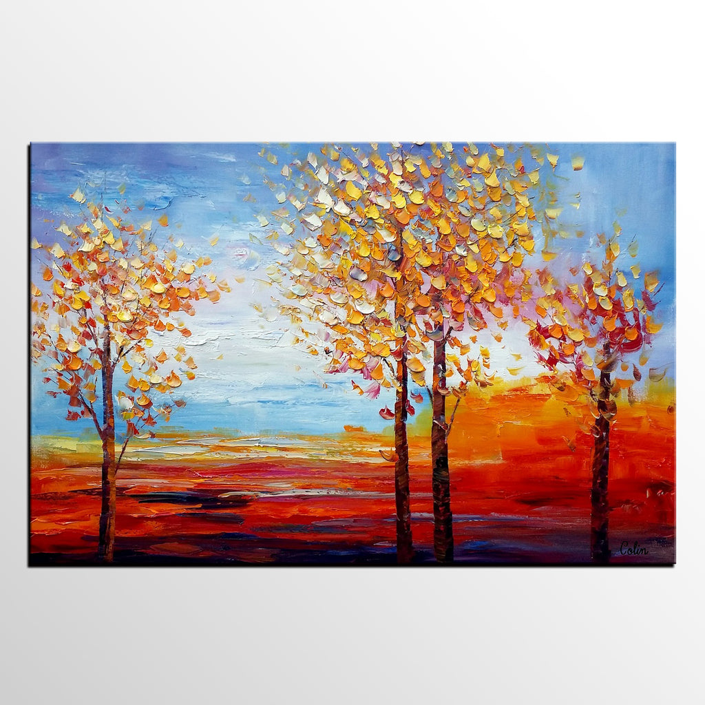 Oil Painting For Sale Landscape Dining Room Wall Decor Abstract