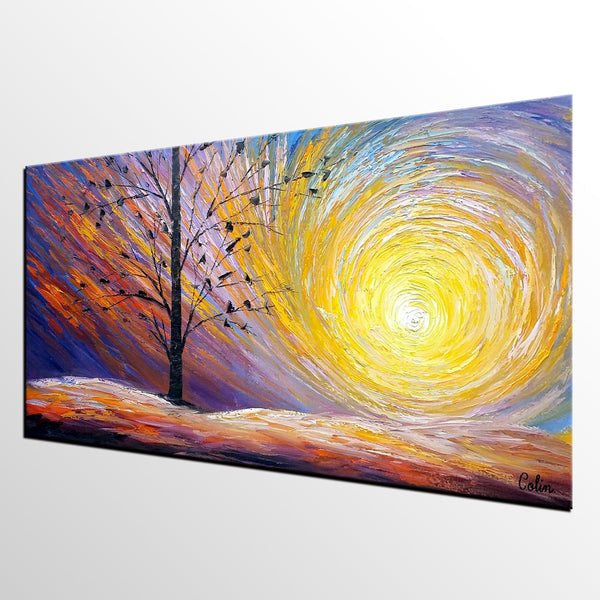 Original Oil Painting, Modern Painting, Landscape Art, Painting for Sale