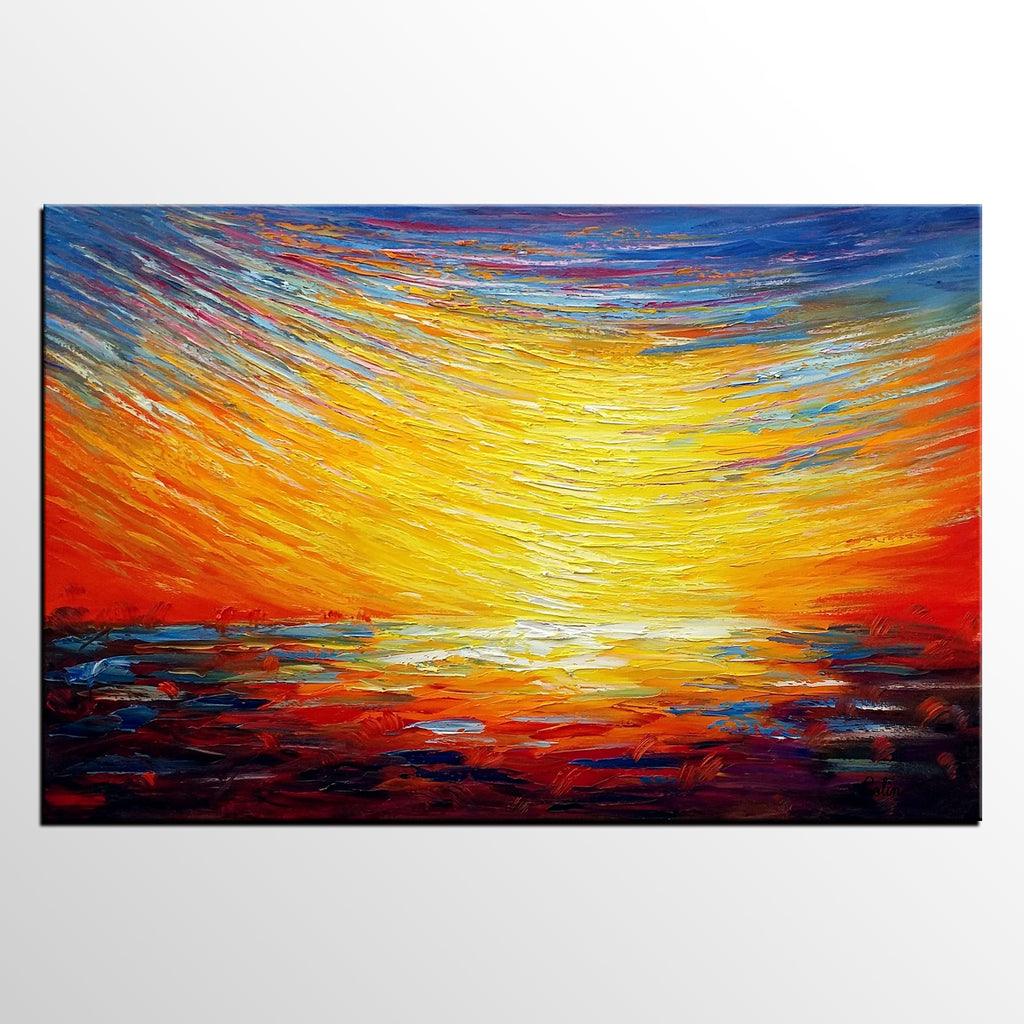 Oil Painting for Sale, Original Abstract Painting, Wall Art, Canvas ...