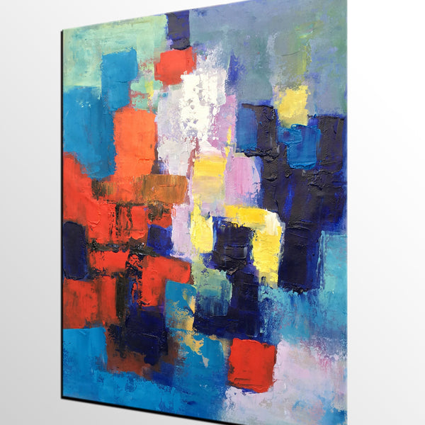 Heavy Texture Painting, Abstract Wall Painting, Acrylic Wall Art, Painting for Sale - artworkcanvas