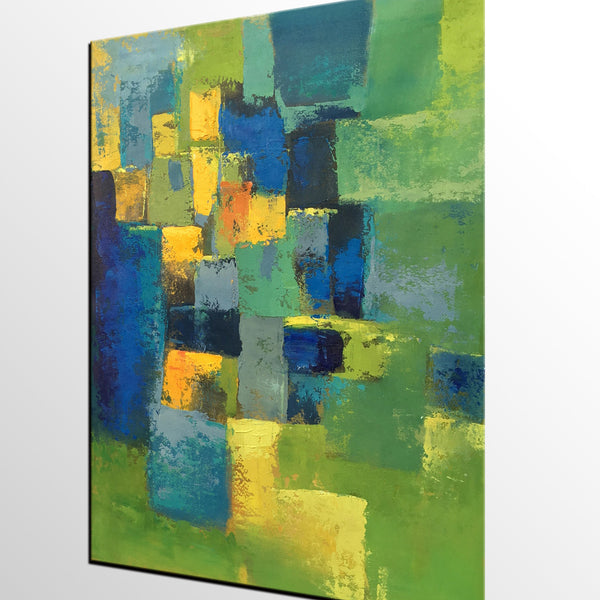 Living Room Wall Art, Abstract Painting, Modern Wall Art, Canvas Art, Wall Art, Original Artwork - artworkcanvas