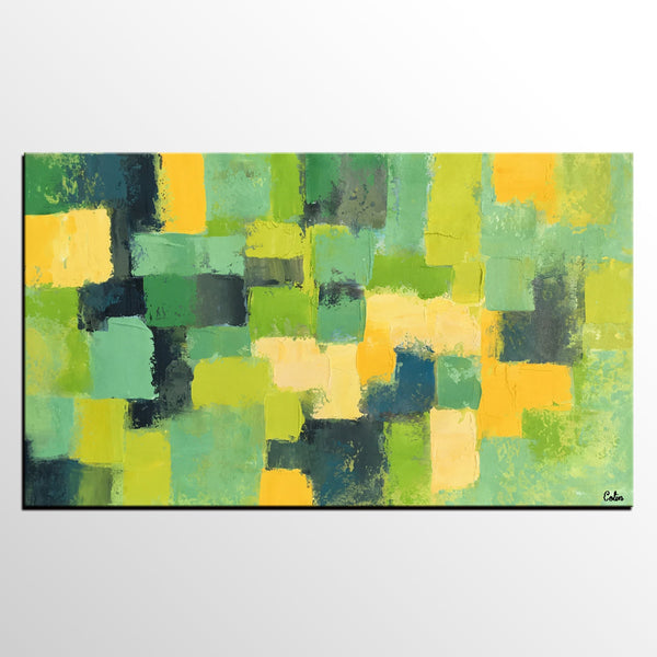 Abstract Art Painting, Acrylic Painting on Canvas, Canvas Wall Art, Original Painting