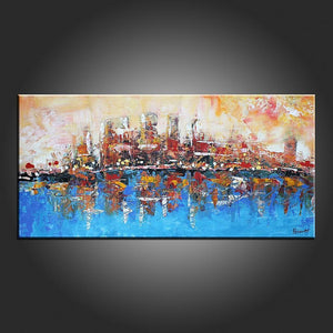 Modern Art Abstract Painting Contemporary Abstrac Artworkcanvas