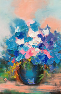 Floral Painting, Original Wall Art, Abstract Painting, Canvas Painting, Painting for Sale - artworkcanvas