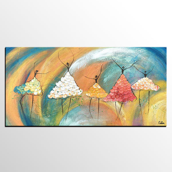 Large Painting, Ballet Dancer Painting, Wall Art, Abstract Art, Canvas Painting, Wall Art, Canvas Art, Abstract Painting, 467